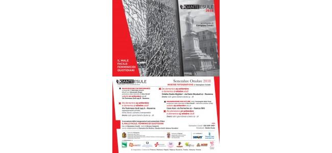 """Dante Esule 2018. Presentato il libro """"Il male facile: femminicidi quotidiani"""" di Giampiero Corelli"""